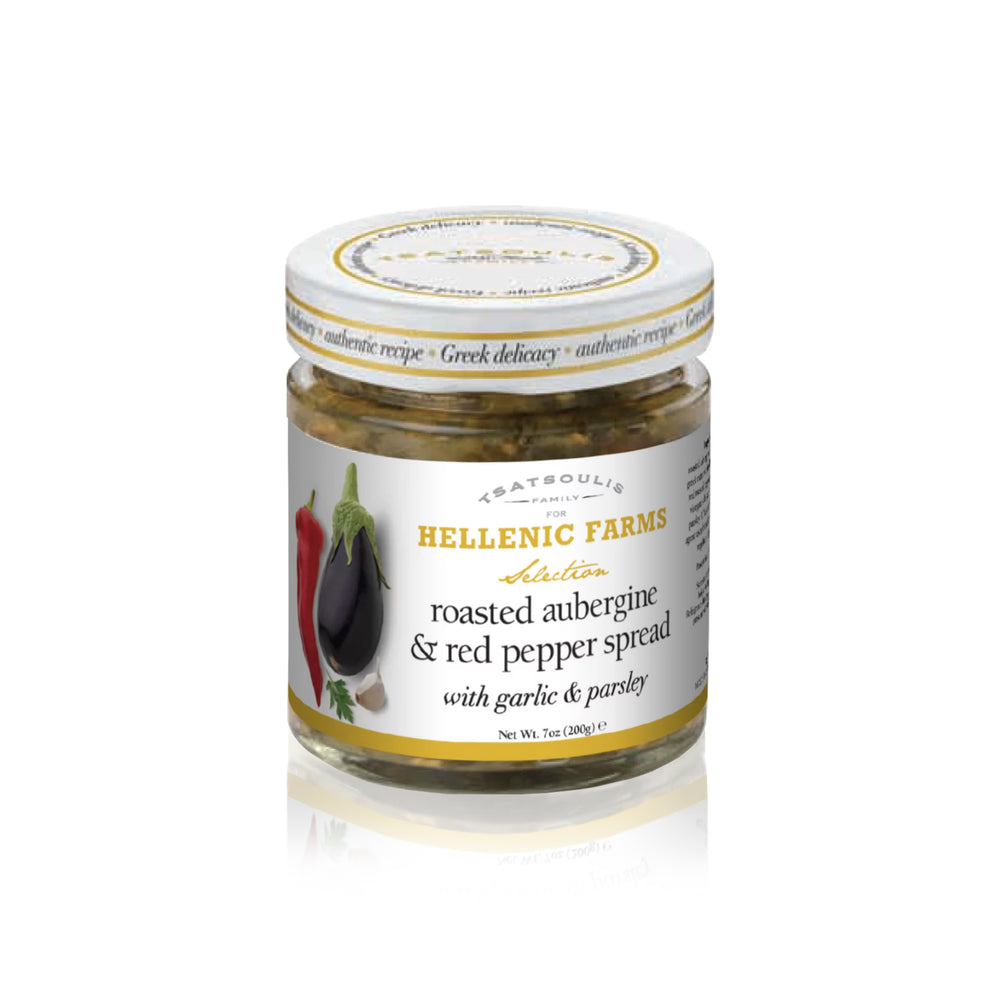 Eggplant & Red Pepper Spread - Olive Grove Market-HELLENIC FARMS-Spread/Dip