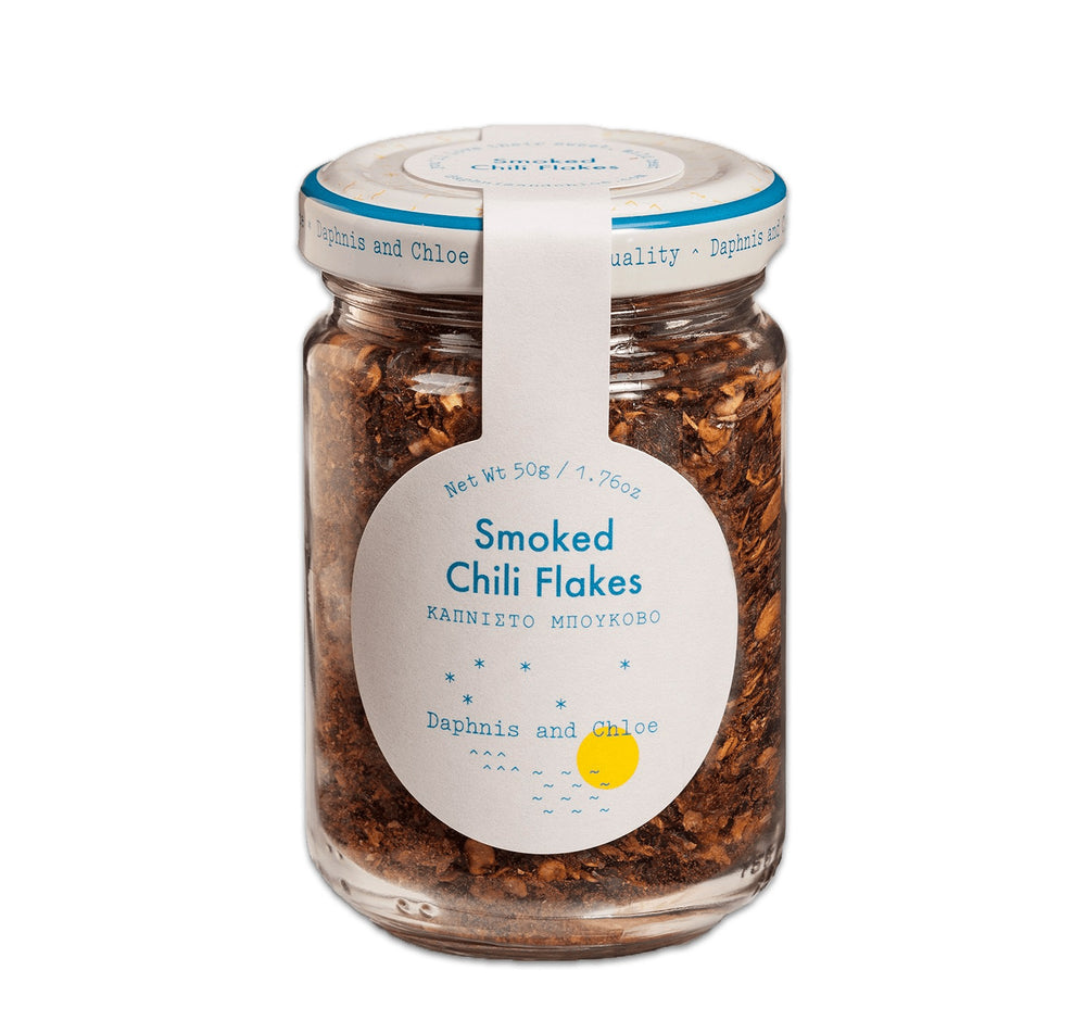 Smoked Chili Flakes (Bukovo) - Glass Jar - Olive Grove Market
