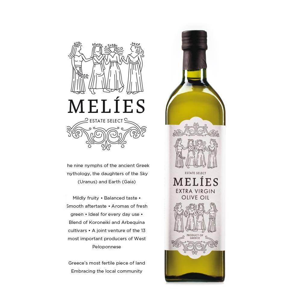 Melies Extra Virgin Olive Oil - Olive Grove Market