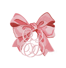 Southern Big Bow Embroidery Design