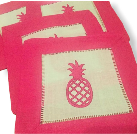Pineapple Embroidery Fill Design