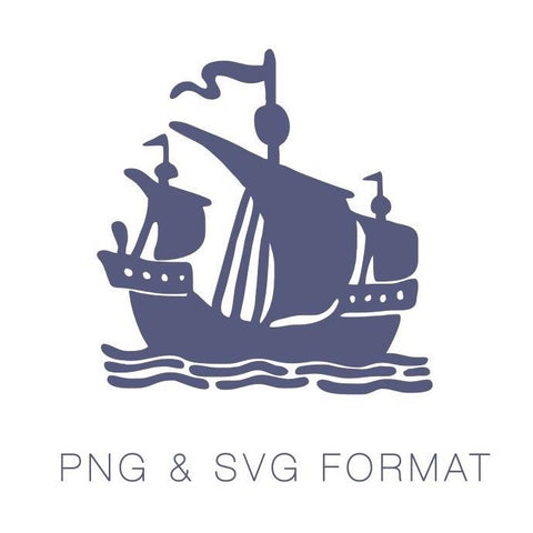 Pirate Ship PNG & SVG Format