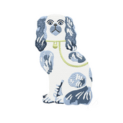 Staffordshire Dog Embroidery Design