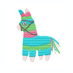 Piñata Cinco De Mayo Embroidery Design