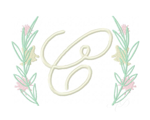 Herrington Design Laurel Wreath Embroidery Design