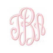 Empress Satin Stitch Embroidery Font