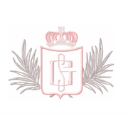 Family Crest Crown Palm Embroidery Design