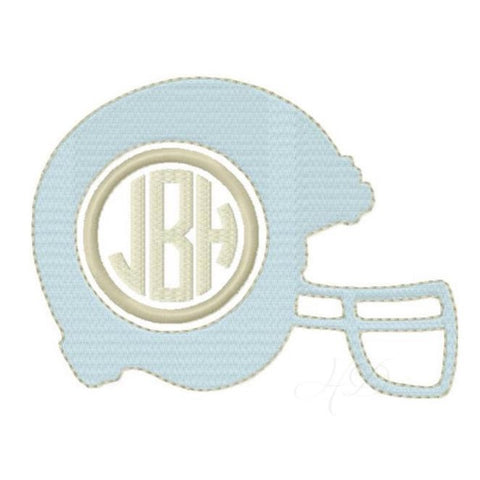 Football Helmet Monogram
