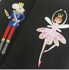 Nutcracker Sugar Plum Fairy Embroidery Design