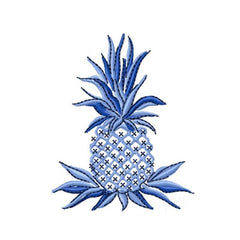 Traditional Pineapple Embroidery Design