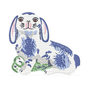 Staffordshire Rabbit Embroidery Design