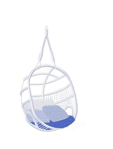 Swing Chair Embroidery Design