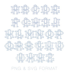 PNG SVG Two Type Fishtail Outline A Font