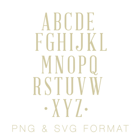 Reynolds Monogram PNG & SVG Monogram Font