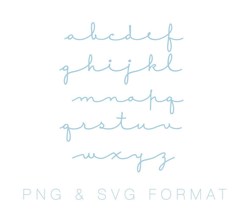 Sweet and Simple Monogram PNG SVG Monogram Font