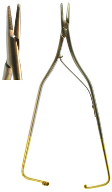 Needle Holder, Arruga Straight 16cm  (Z-4698)