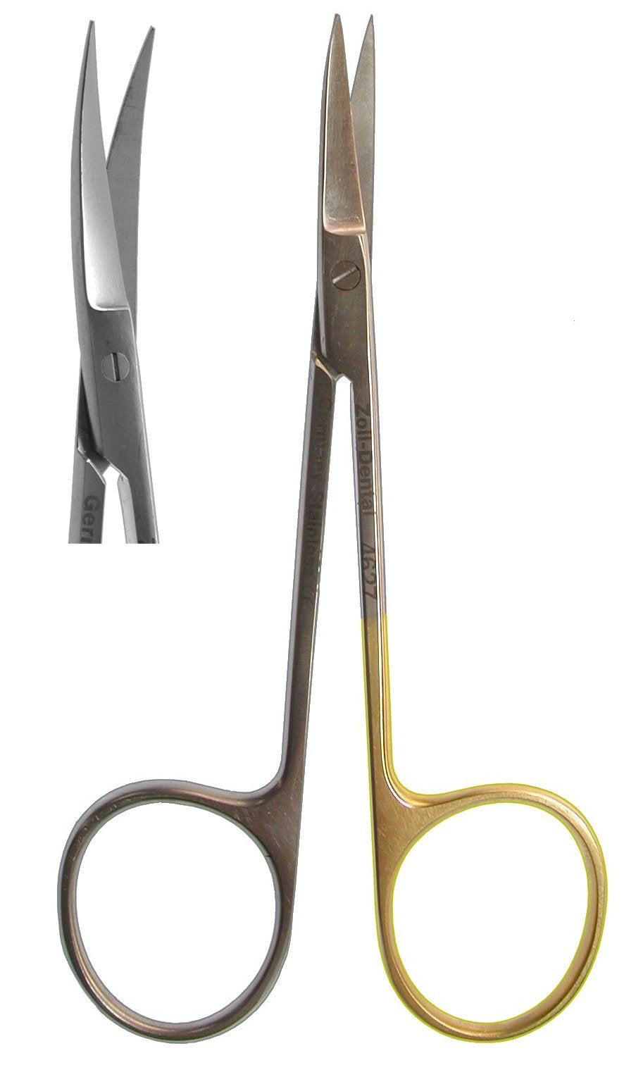 Scissors, Iris Curved  11.5cm  (Z-4627)