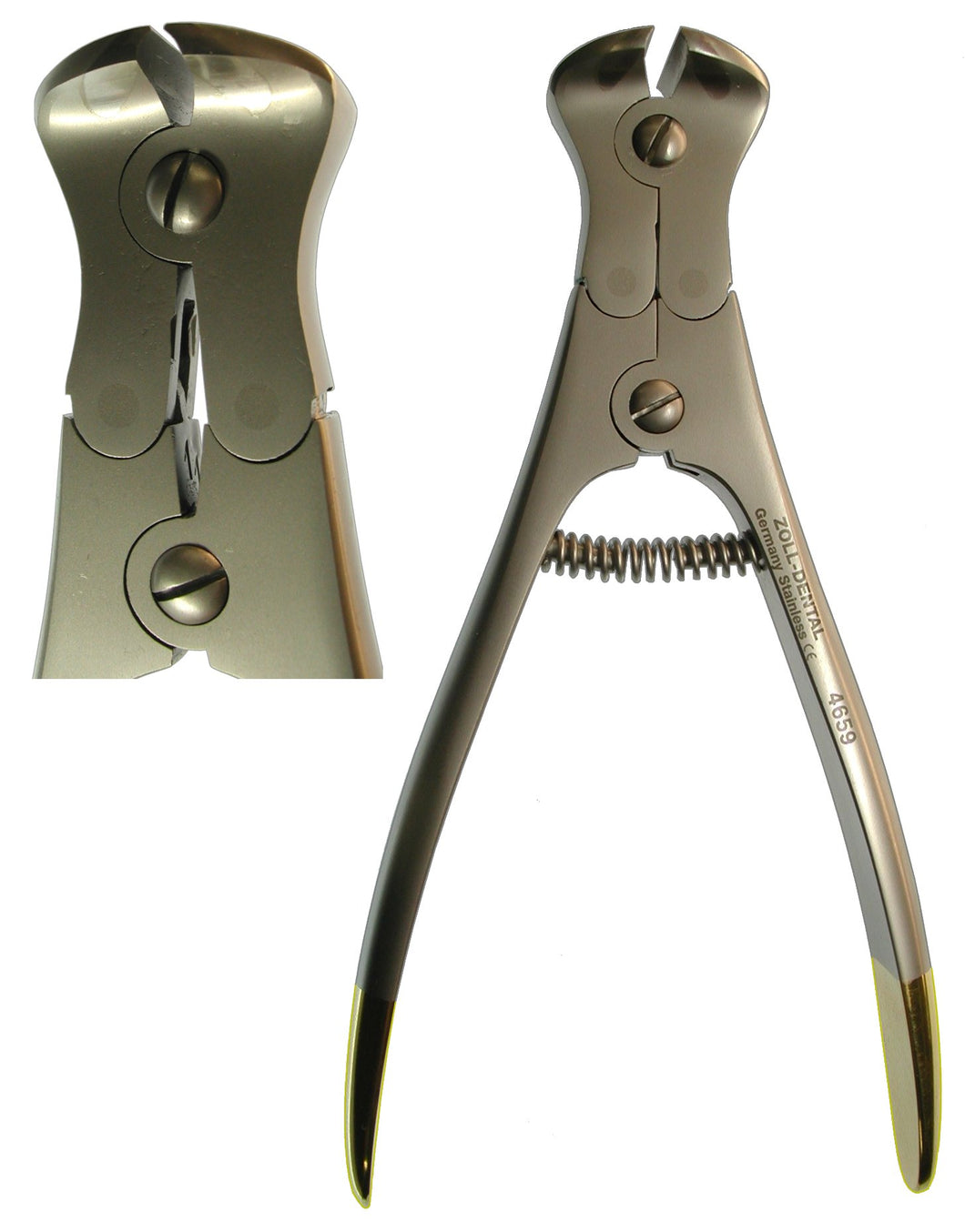 Double-Action Heavy Wire Cutter Carbide 15cm  (Z-4659)