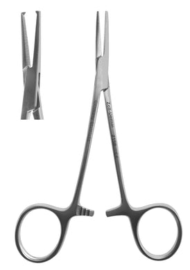 Hemostat, #5 Mosquito 1 X 2 Teeth Straight  12cm/4.75