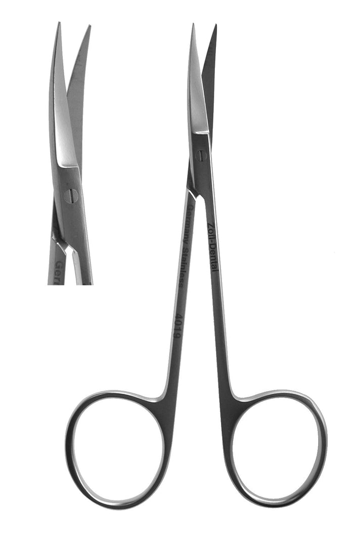 Scissors, Iris Curved  11.5cm  (Z-4019)