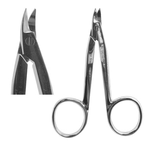 Crown Scissors, Pedo Small Curved 9cm  (Z-9TKP)