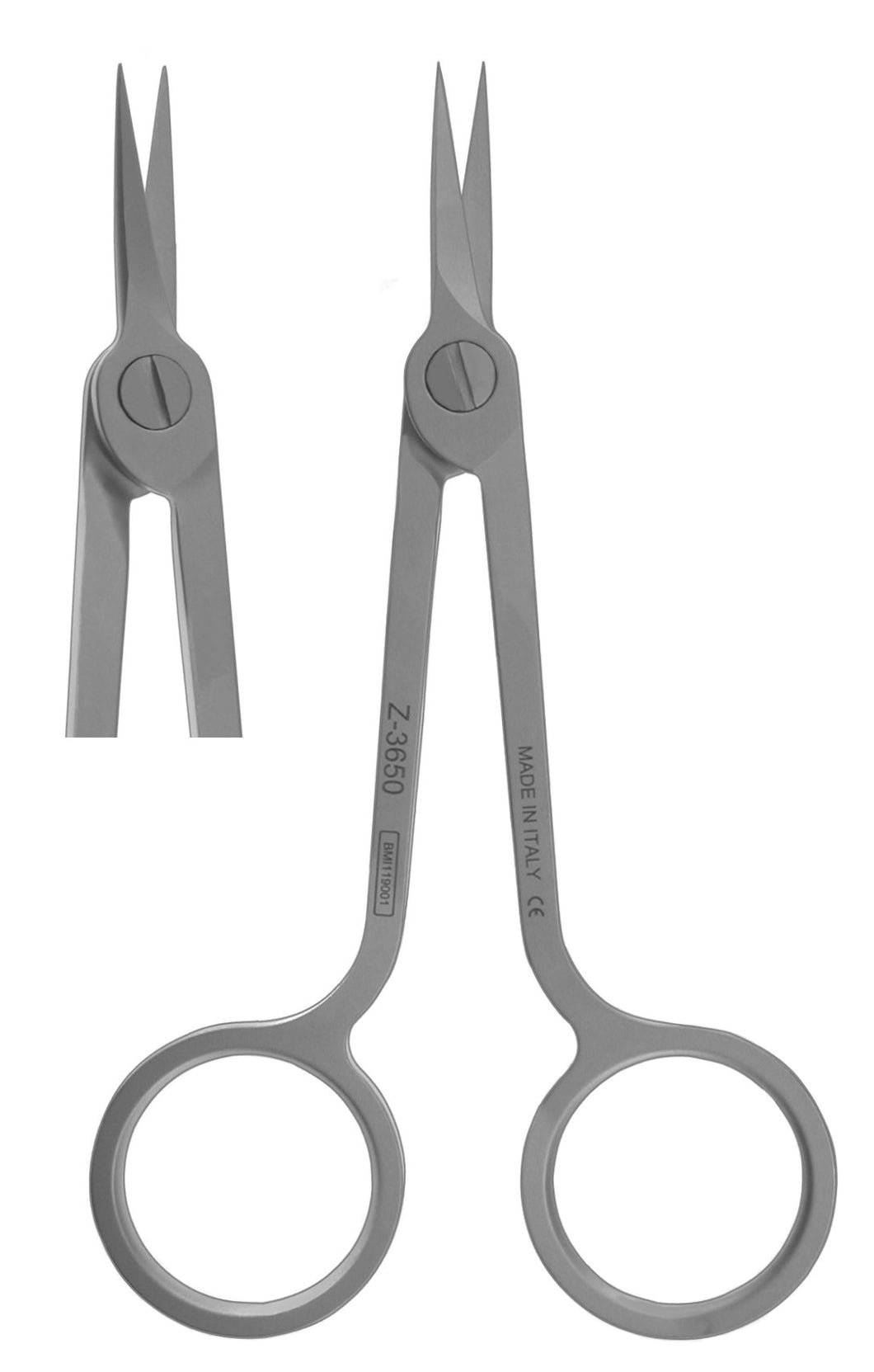 Scissors, Hi-Tech Straight Stainless 11.5cm  (Z-3650)