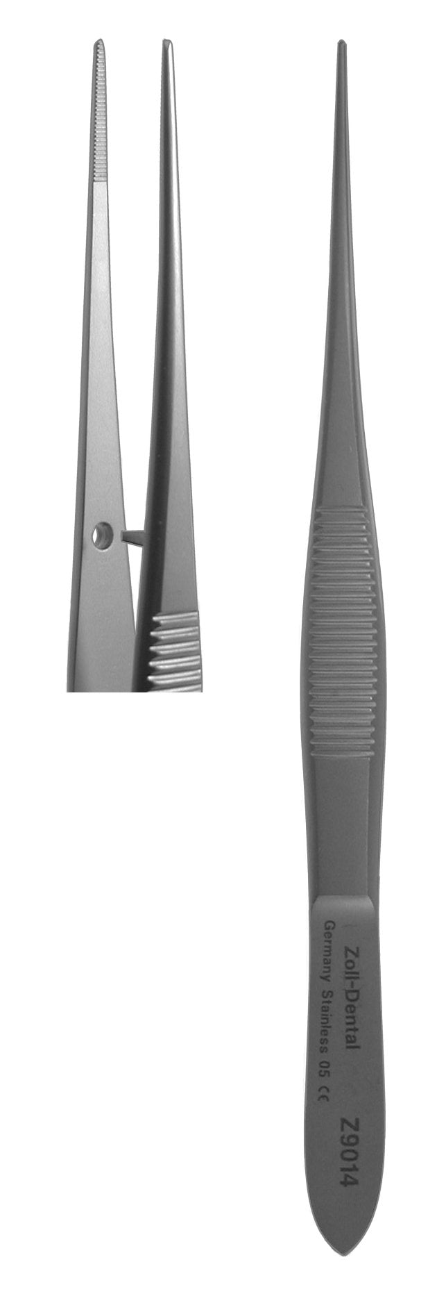 Tissue Forceps, Small Straight  (Z-9014)