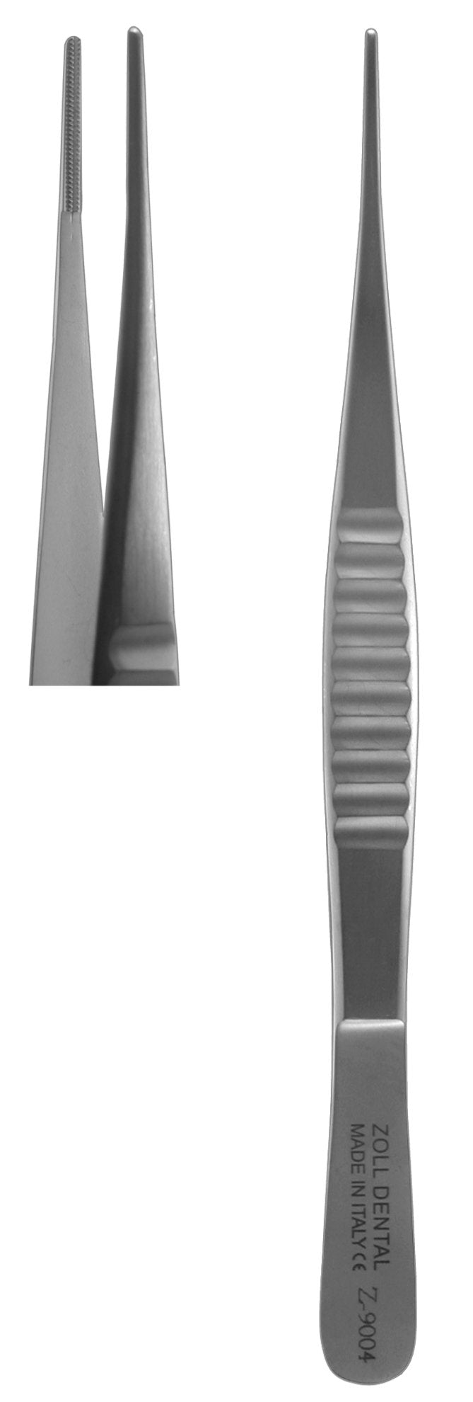 Tissue Forceps, DeBakey Straight A-Traumatic  (Z-9004)