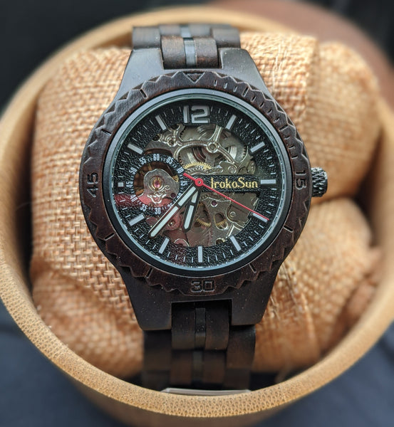 Xylo Automatic Wood Watch