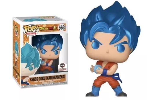 Funko Pop Dragon Ball | SSGS Goku (Kamehameha) #563