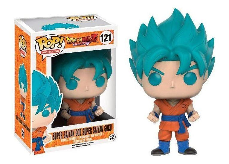Funko Pop Super Saiyan God Goku #121