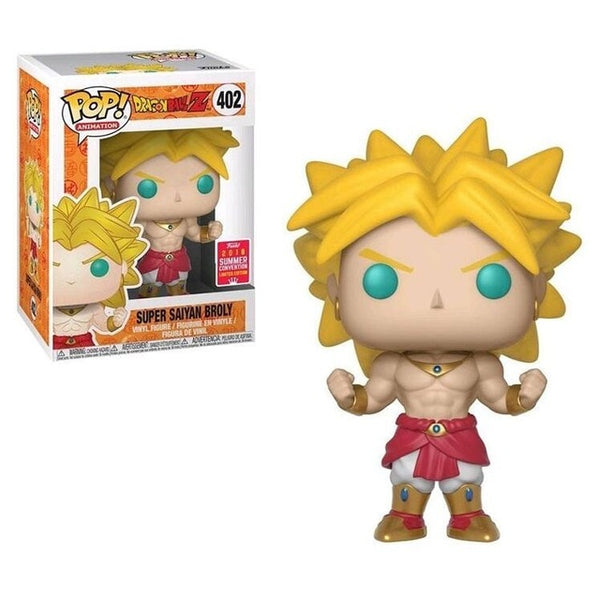 Funko Pop Dragon Ball Super Saiyan Broly #402