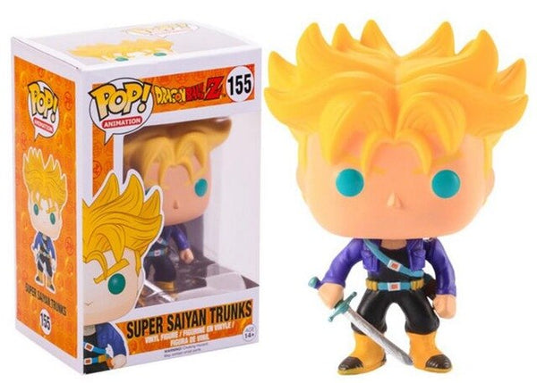 Funko Pop Dragon Ball | Super Saiyan Trunks #155