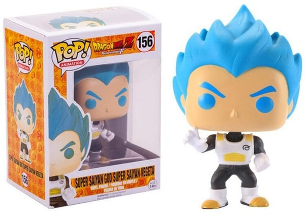 Funko Pop Dragon Ball Z | Super Saiyan God Super Saiyan Vegeta #156