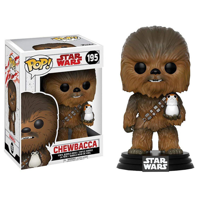 Funko Pop Chewbacca #195 | Star Wars Os Últimos Jedi