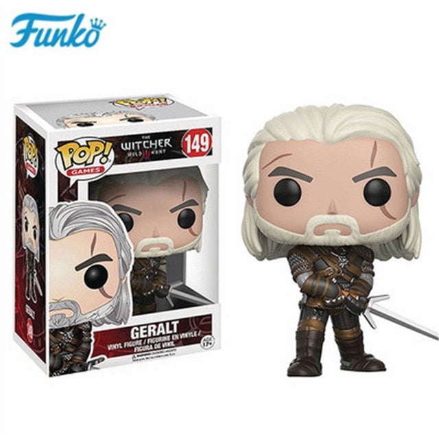 Funko pop The Witcher 3 - Geralt  #149