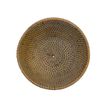 Load image into Gallery viewer, Small Rattan Bowl in French Grey