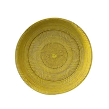 Load image into Gallery viewer, XLarge  Decor Plate in Lemon