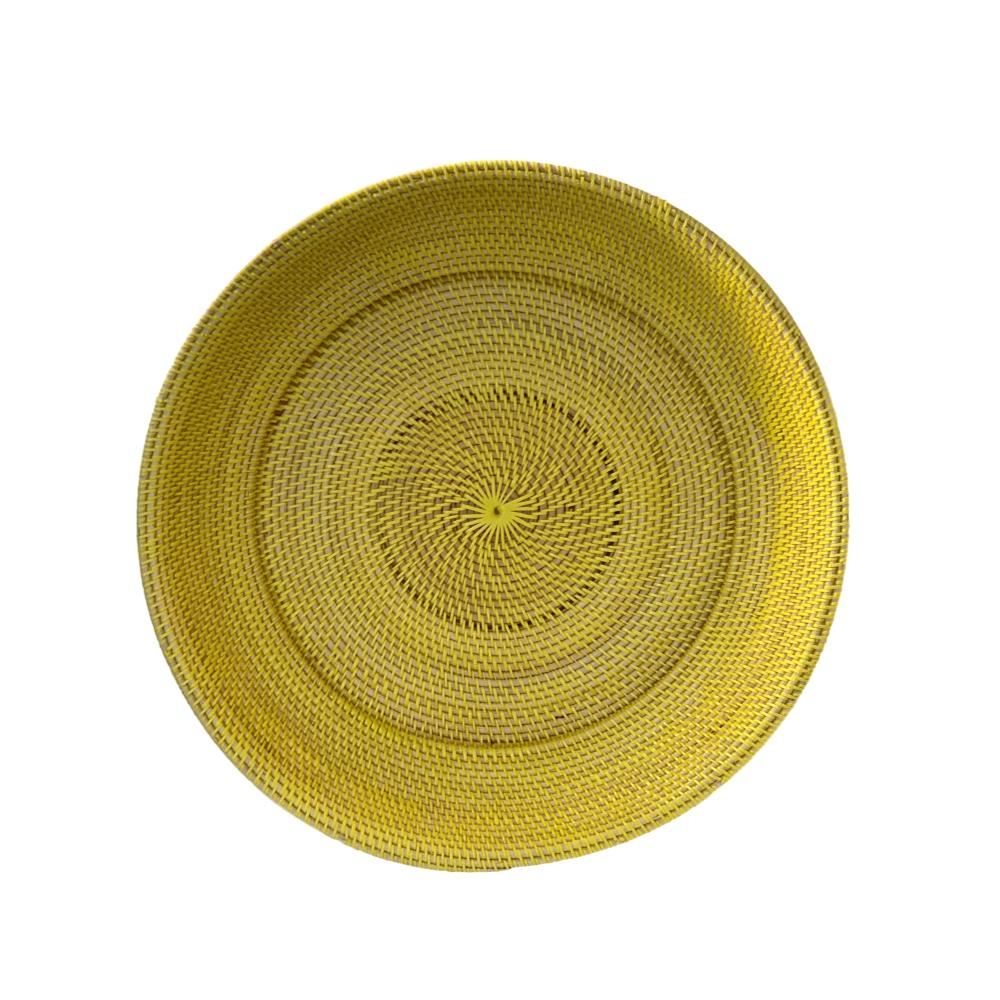 XLarge  Decor Plate in Lemon
