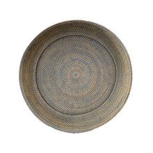 Load image into Gallery viewer, XLarge Round Decor Plate in French Grey