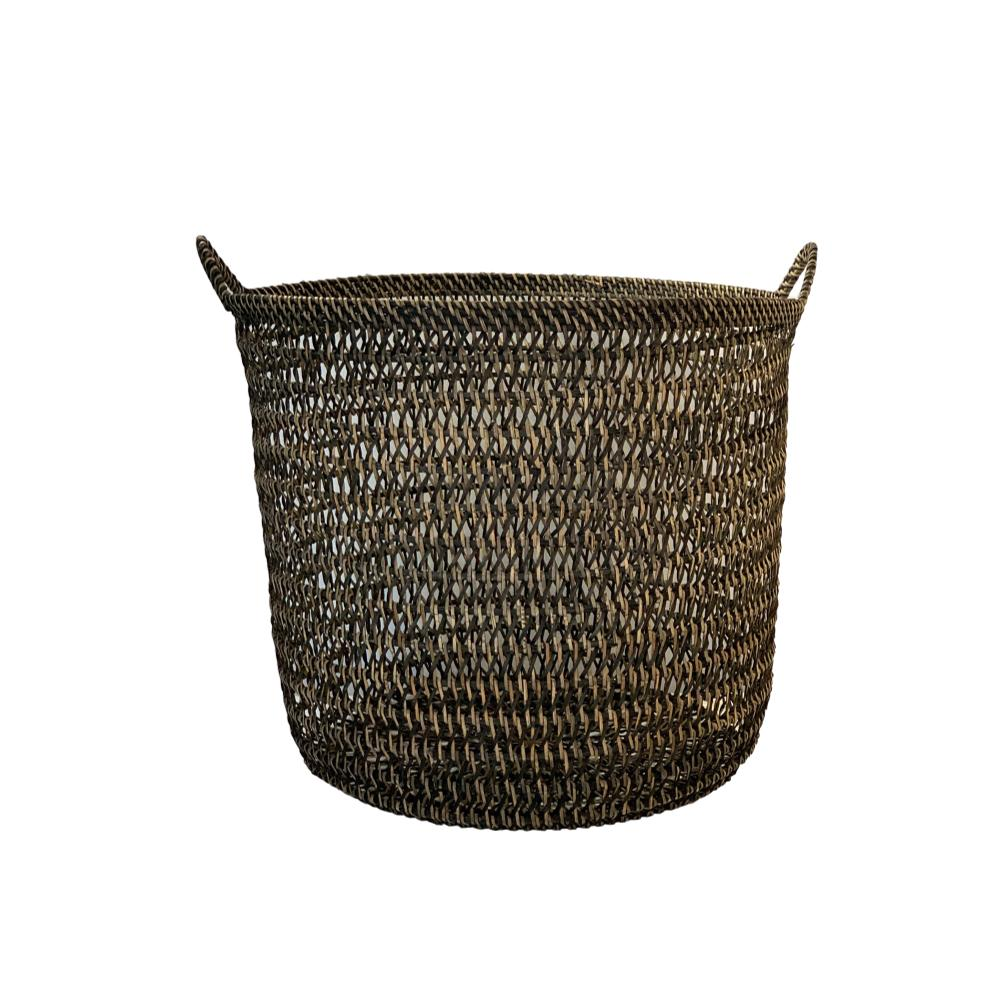 Rattan Net Basket in Bohemian