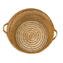 Load image into Gallery viewer, Rattan Net Basket in Natural Honey