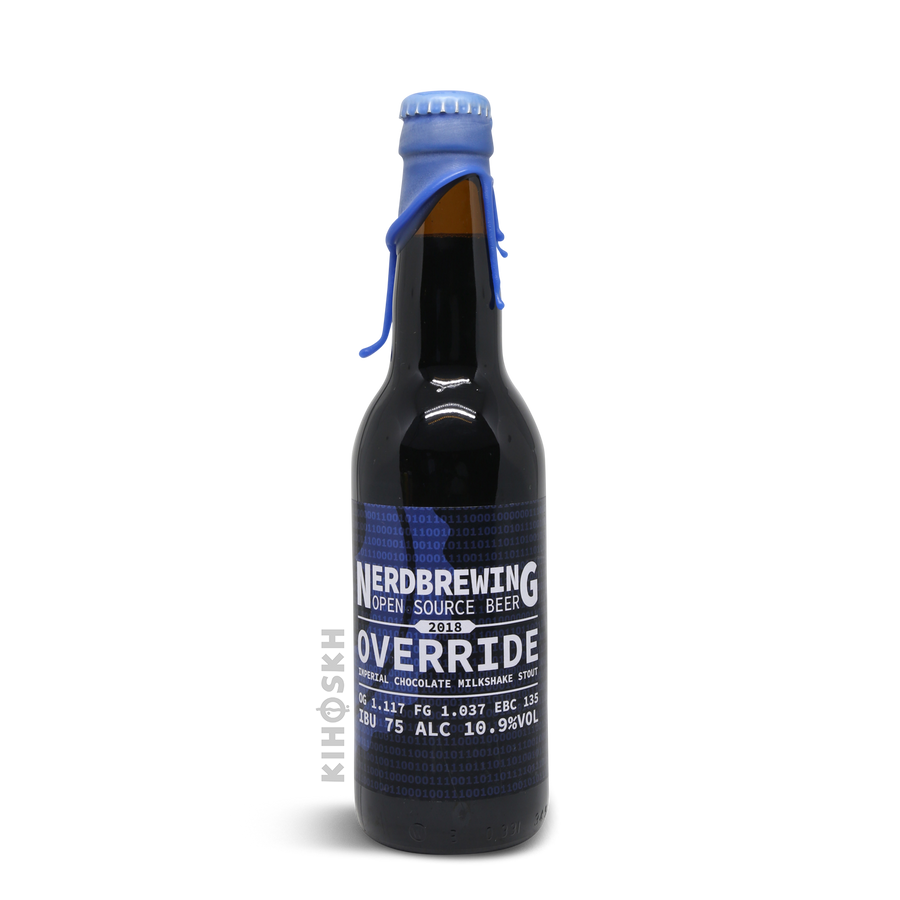 Nerd Brewing - Override Imperial Chocolate Milkshake Stout 2018