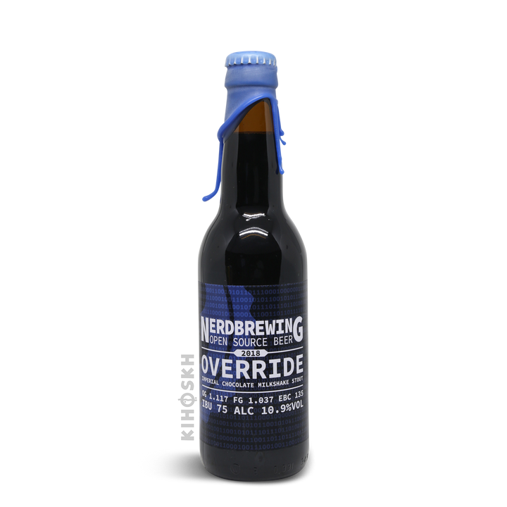 Nerd Brewing - Override Imperial Chocolate Milkshake Stout 2019