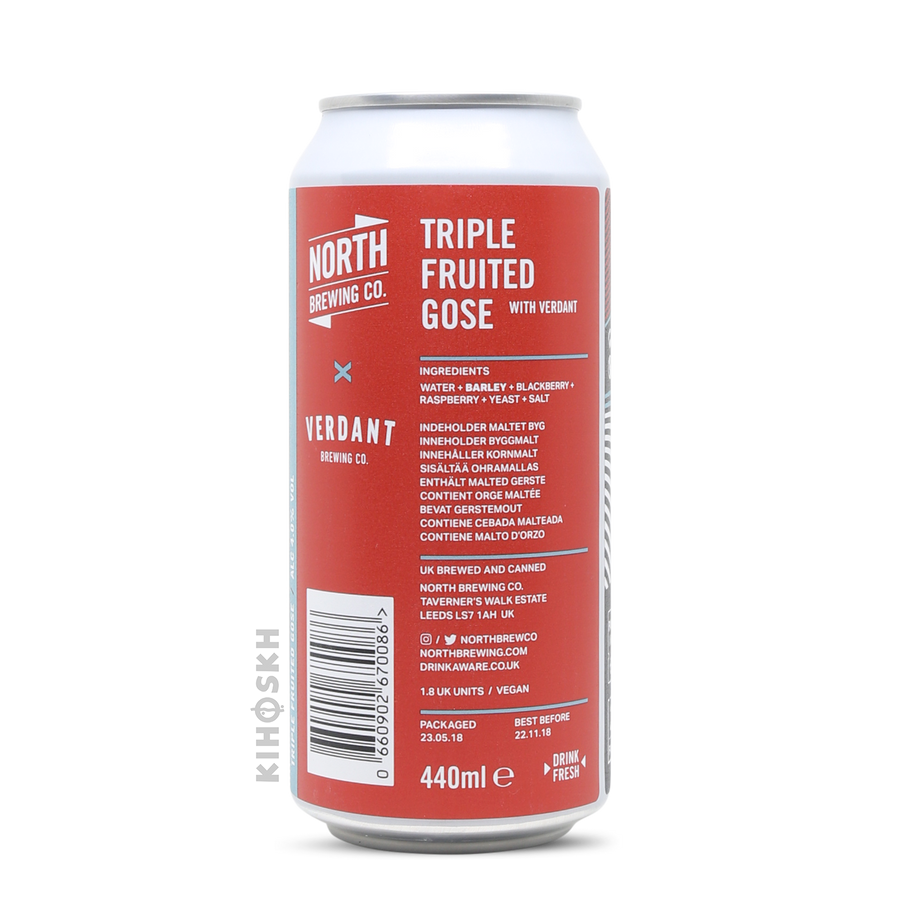 North Brewing Co. - Triple Fruited Gose