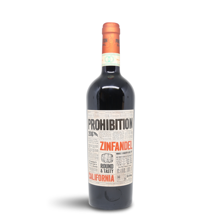 Prime Wine - Prohibition Zinfandel 2016