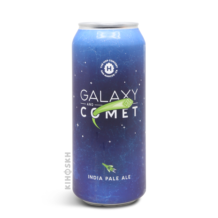 The Hop Concept - Galaxy & Comet
