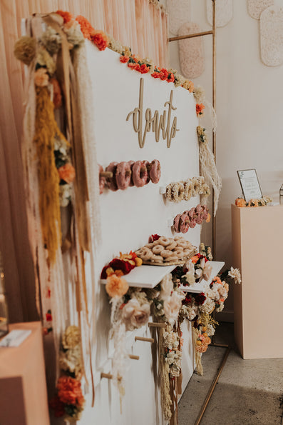 Cartems Donuts x Bespoke Decor / Donut Wall <br> Cartems Wedding Mingler 2020