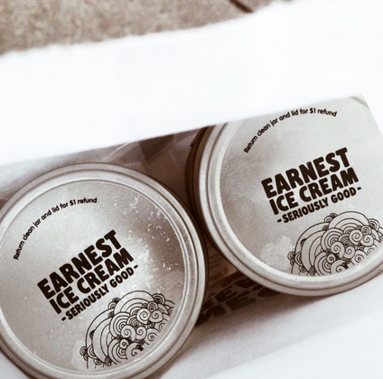 Earnest Ice Cream (Asst. Flavours)