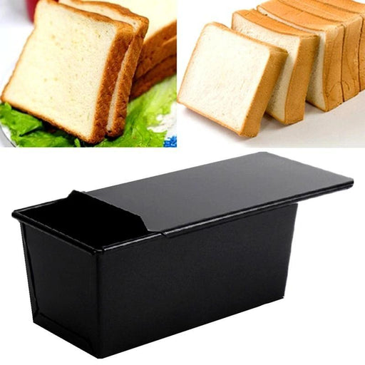 Baking Tools - Loaf Pan With Lid For Baking Bread